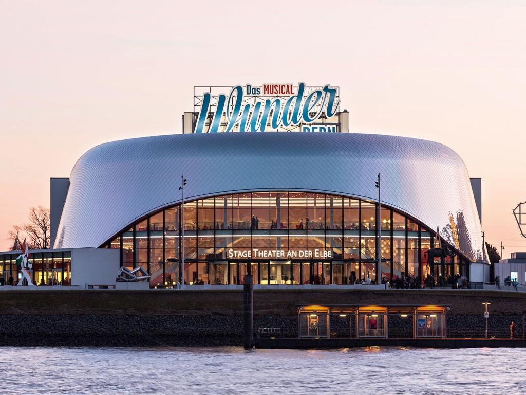 Theater an der Elbe, Hamburg | Foto: HOCHTIEF