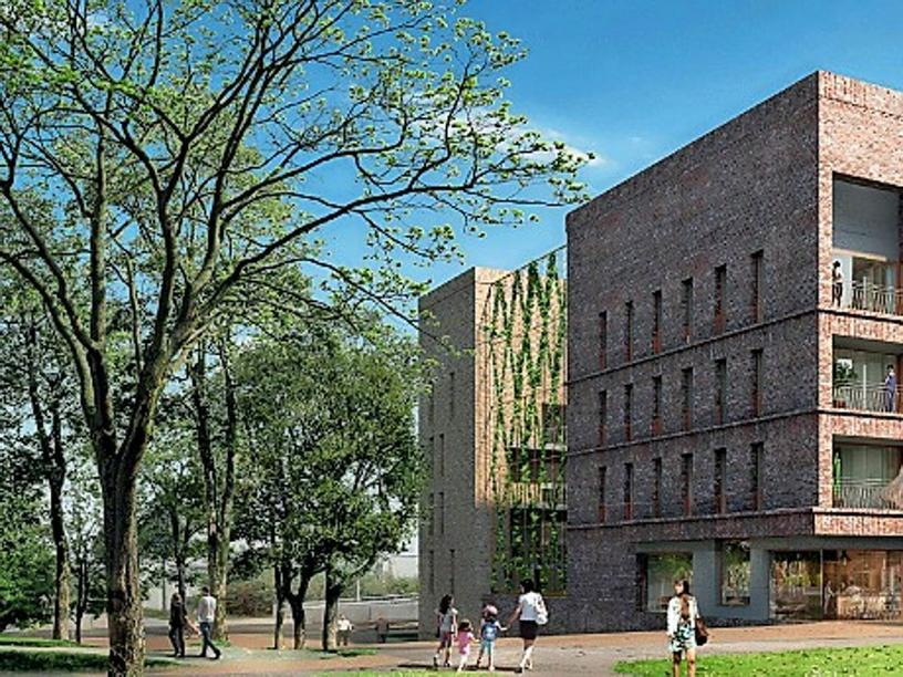 Kronsrode-Nord Baufeld A1.3, Hannover | Quelle: BKSP Architekten, Hannover